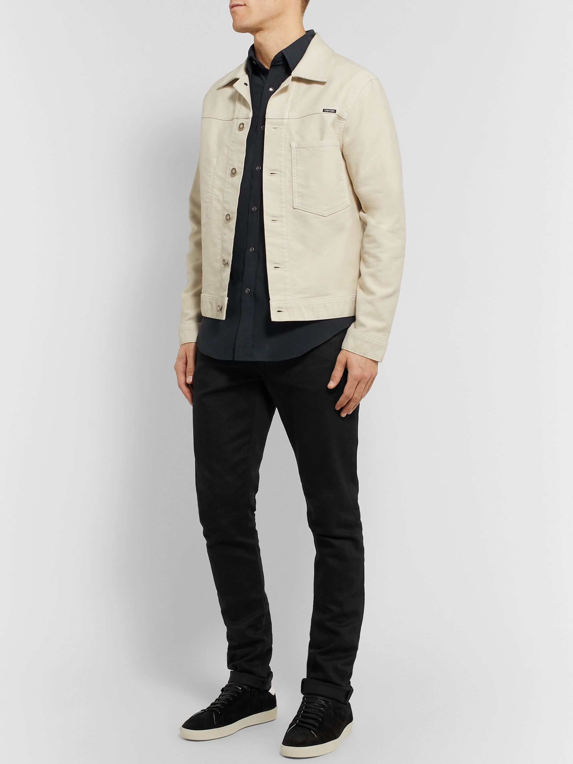 TOM FORD Slim-Fit Cotton-Corduroy Shirt