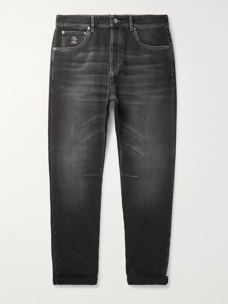 Brunello Cucinelli Selvedge Denim Jeans