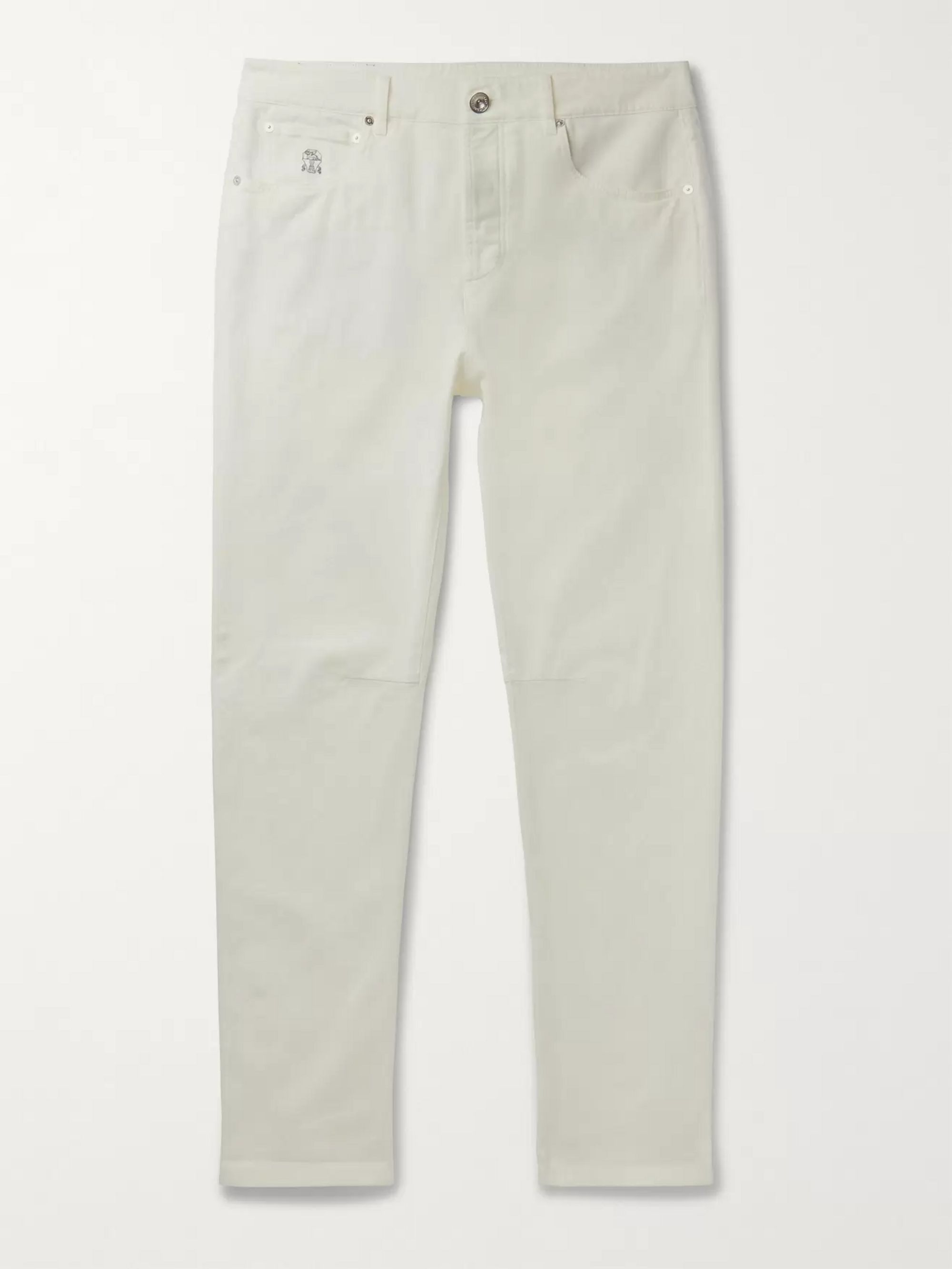 Brunello Cucinelli Slim-Fit Stretch-Denim Jeans