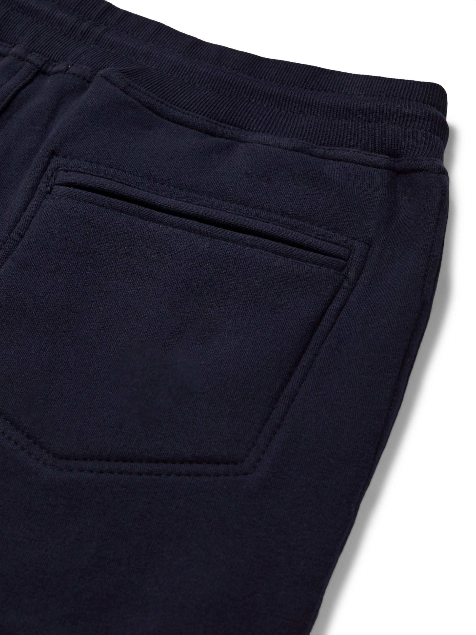 Brunello Cucinelli Slim-Fit Tapered Fleece-Back Stretch-Cotton Jersey Sweatpants