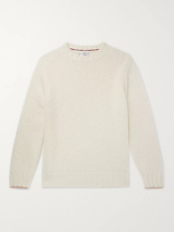 Brunello Cucinelli Alpaca-Blend Sweater