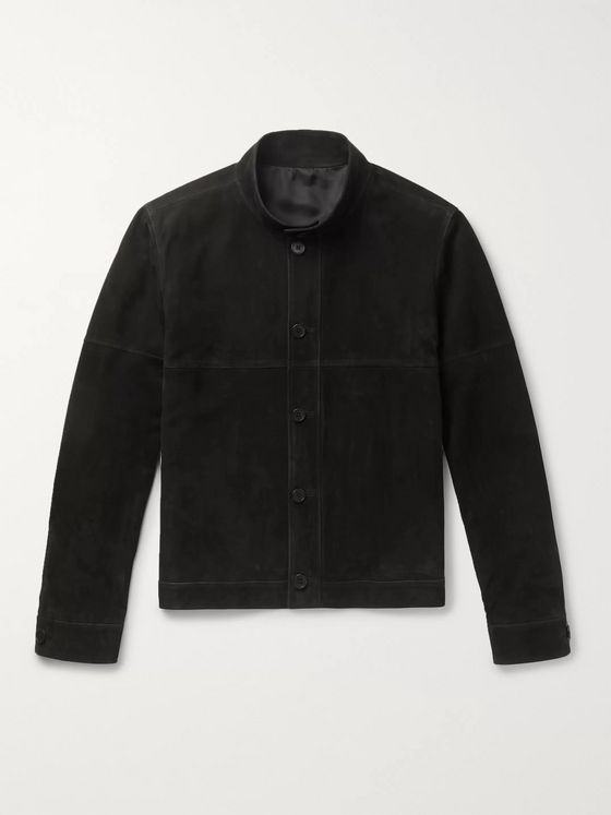 THE ROW Allan Slim-Fit Nubuck Jacket
