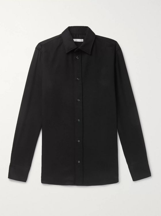 The Row Robin Cashmere Shirt