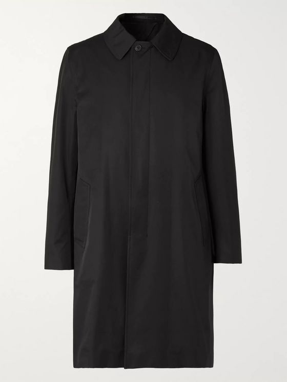 THE ROW Thomas Tech-Cotton Overcoat