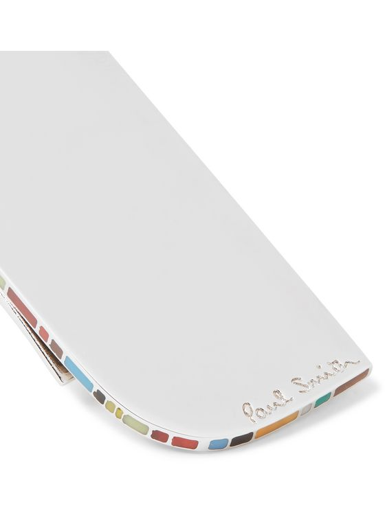 Paul Smith Silver-Tone and Enamel Money Clip