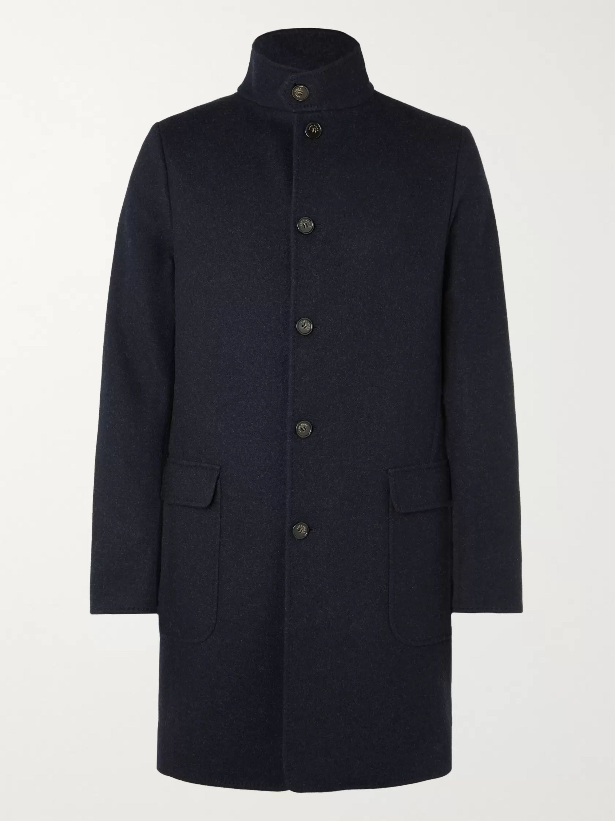 Cashmere Blend Coat by Loro Piana
