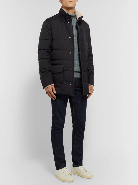 Loro Piana Storm System Quilted Shell Jacket
