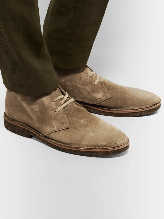 Drake's Clifford Suede Desert Boots