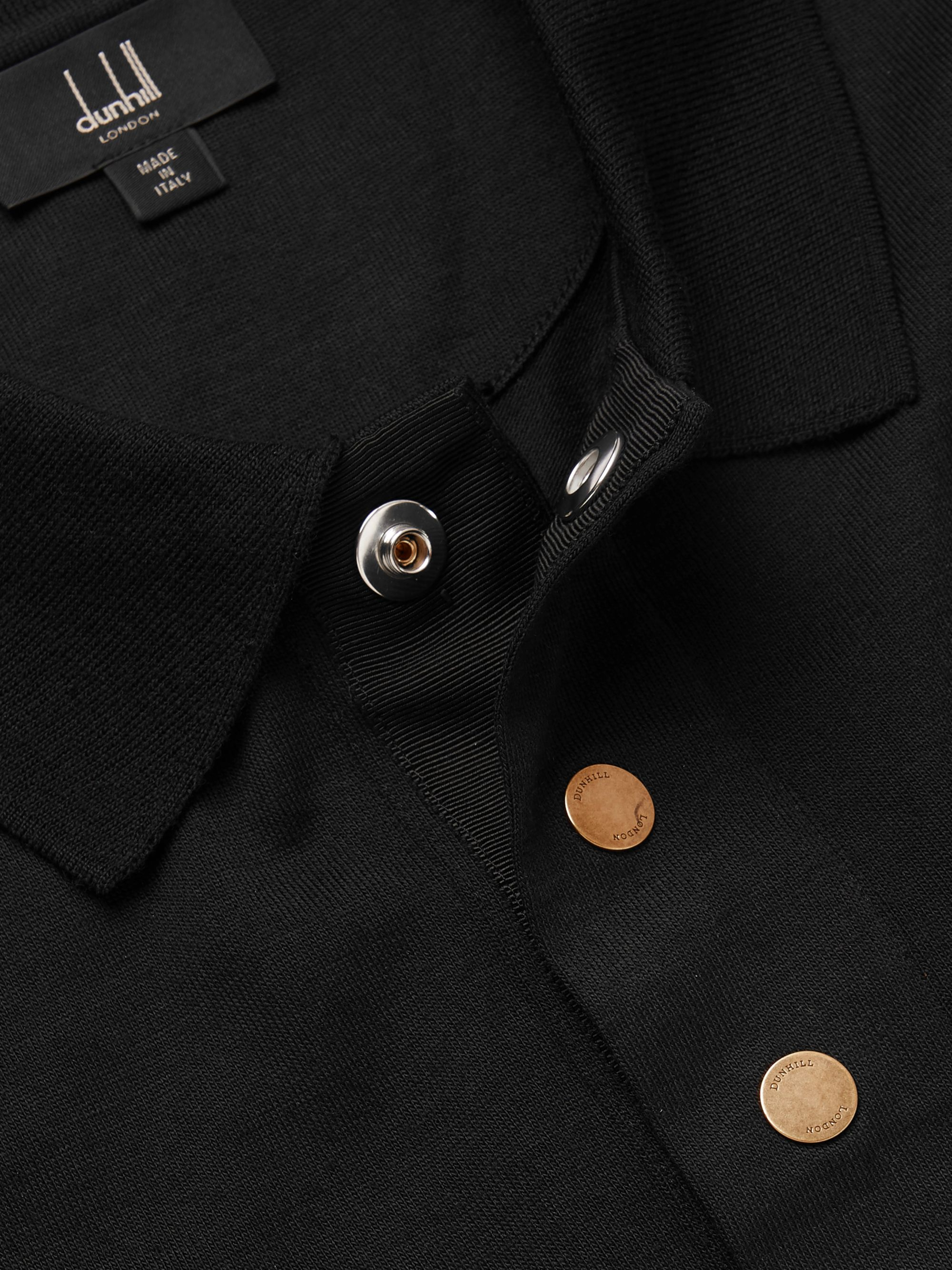 Dunhill Wool Polo Shirt