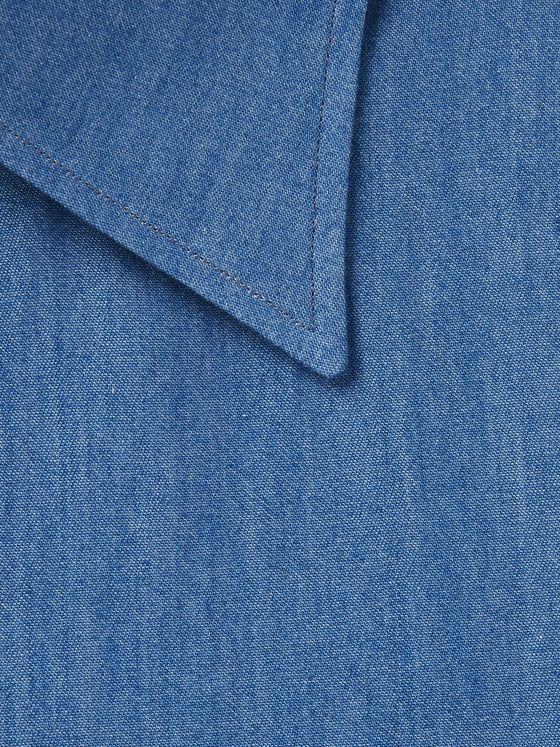 Berg & Berg Fredrik Cotton-Chambray Shirt
