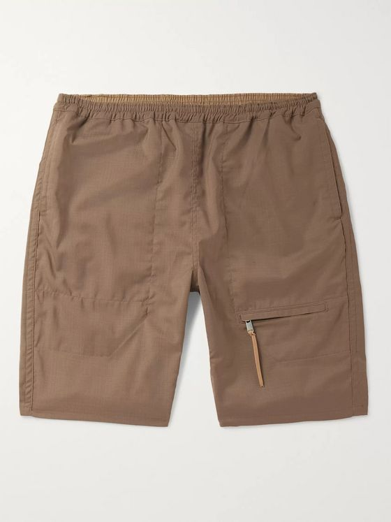 nonnative Wool-Blend Ripstop Shorts