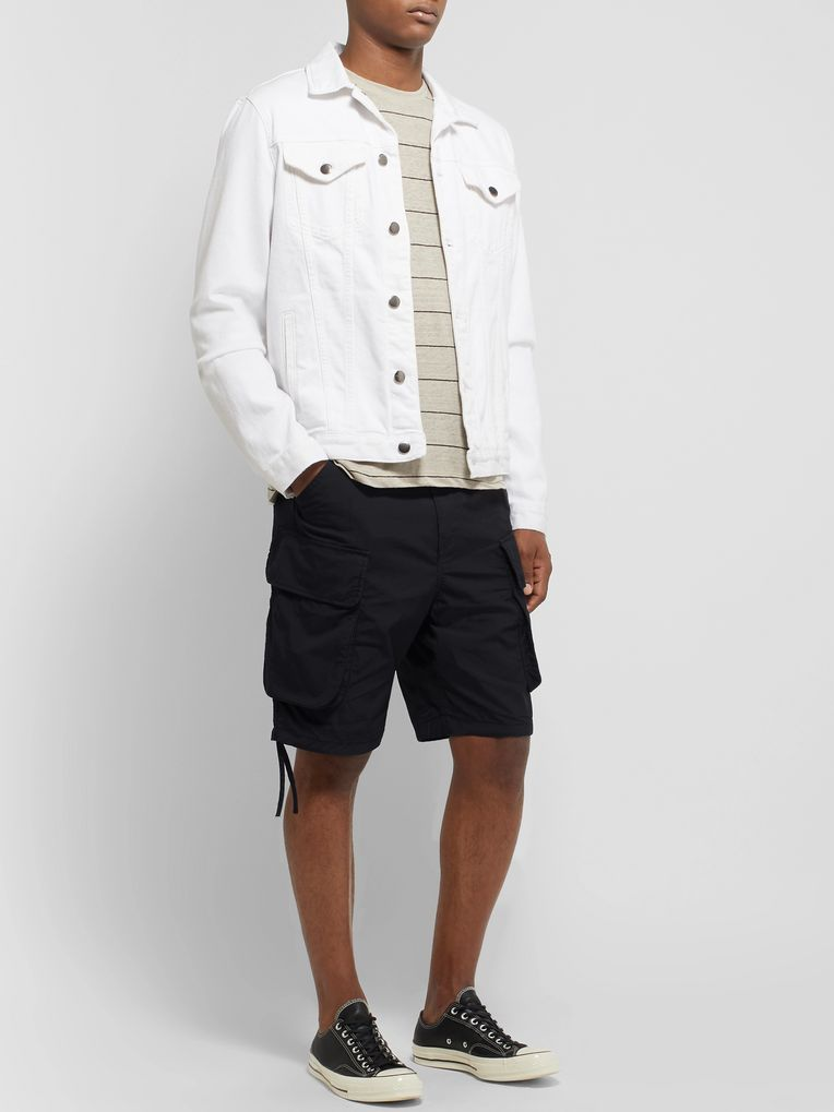 nonnative Commander Slim-Fit COOLMAX Cotton-Blend Ripstop Cargo Shorts