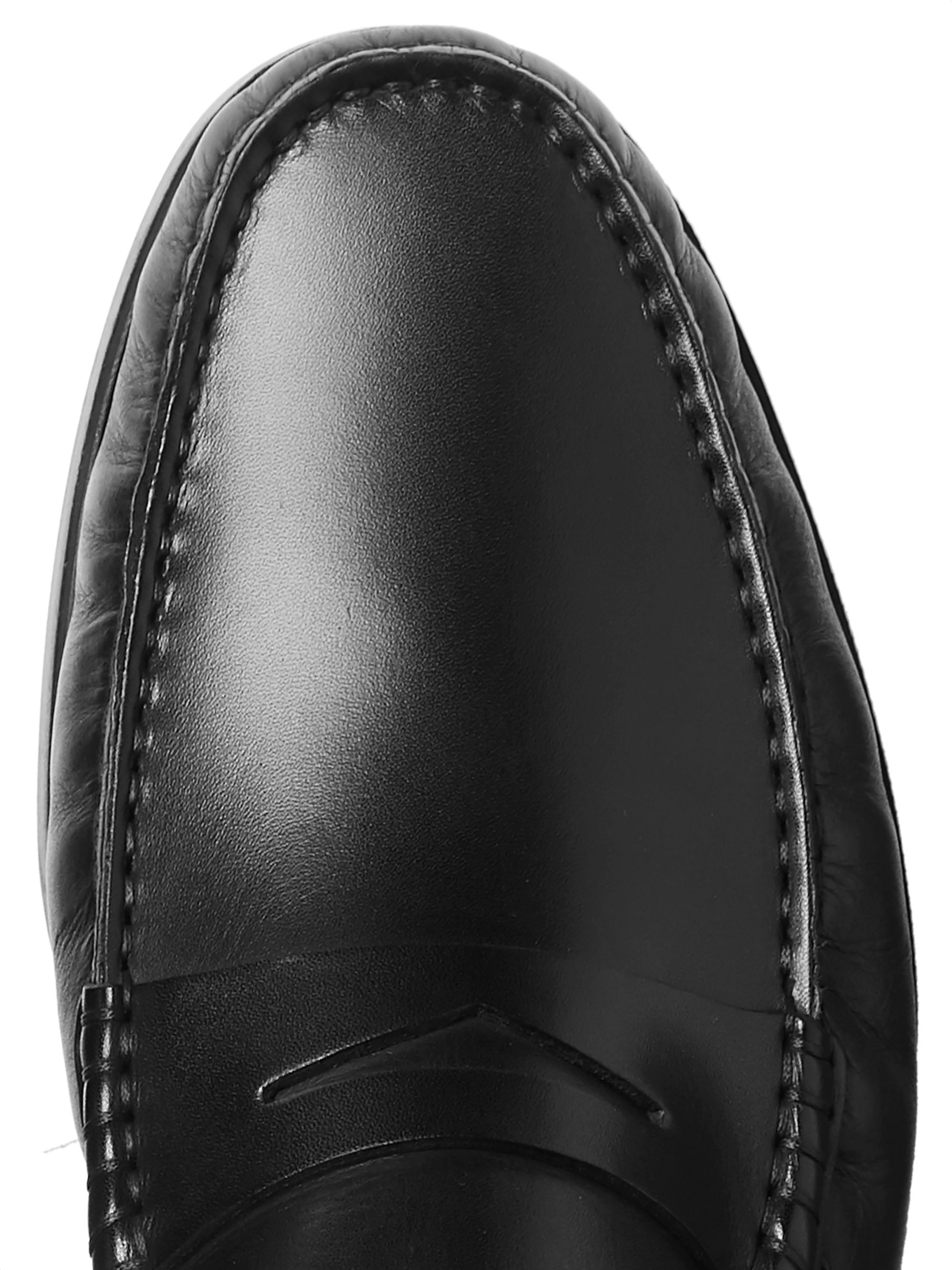 Hugo Boss Riviera Leather Penny Loafers