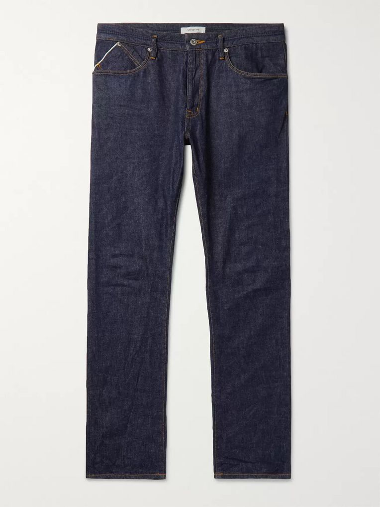 nonnative Dweller Slim-Fit Selvedge Denim Jeans