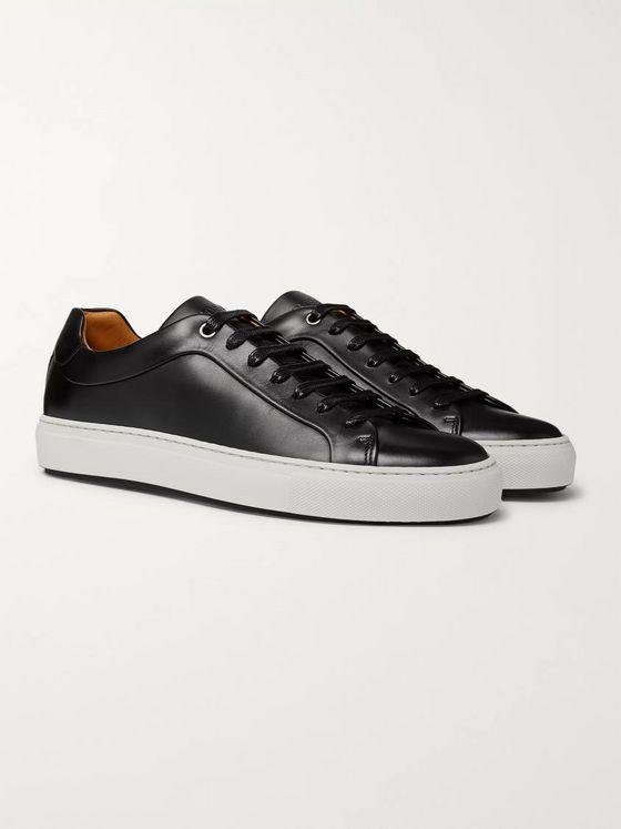 hugo boss leather shoes