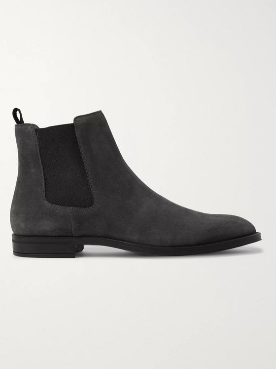 Hugo Boss Coventry Suede Chelsea Boots
