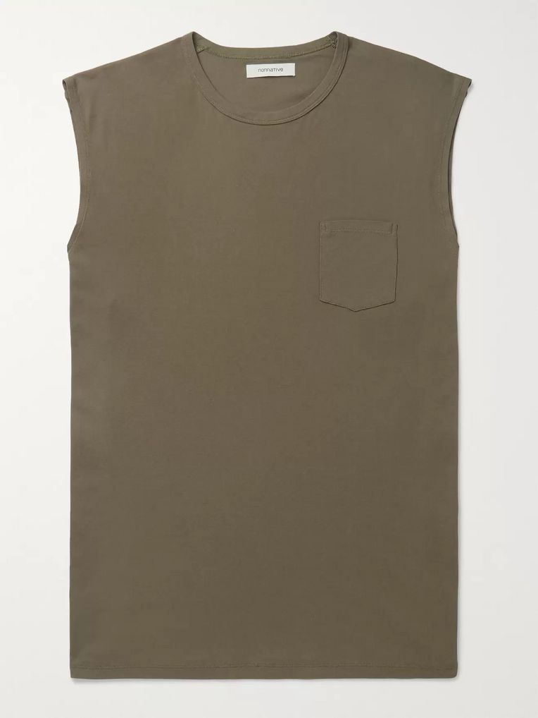 nonnative Dweller Oversized Cotton-Jersey Tank Top