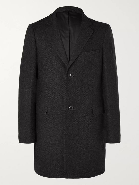 Folk Mélange Wool-Blend Coat