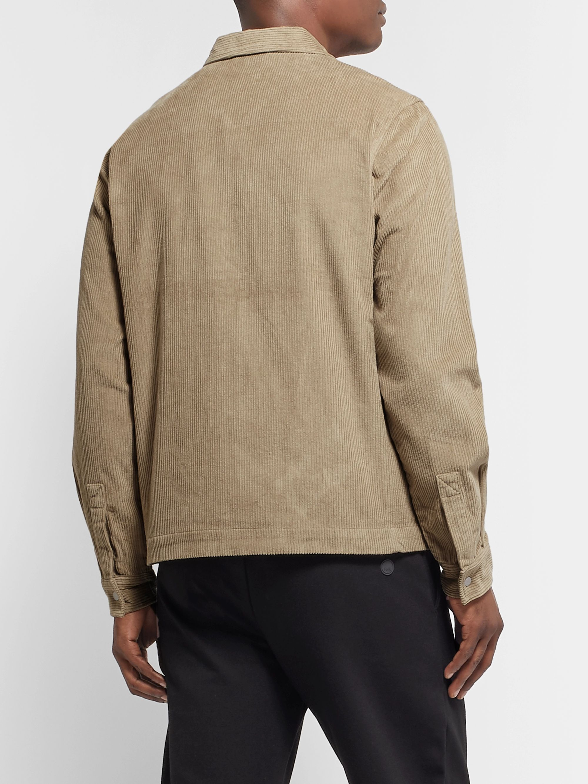 Folk Signal Cotton-Corduroy Jacket