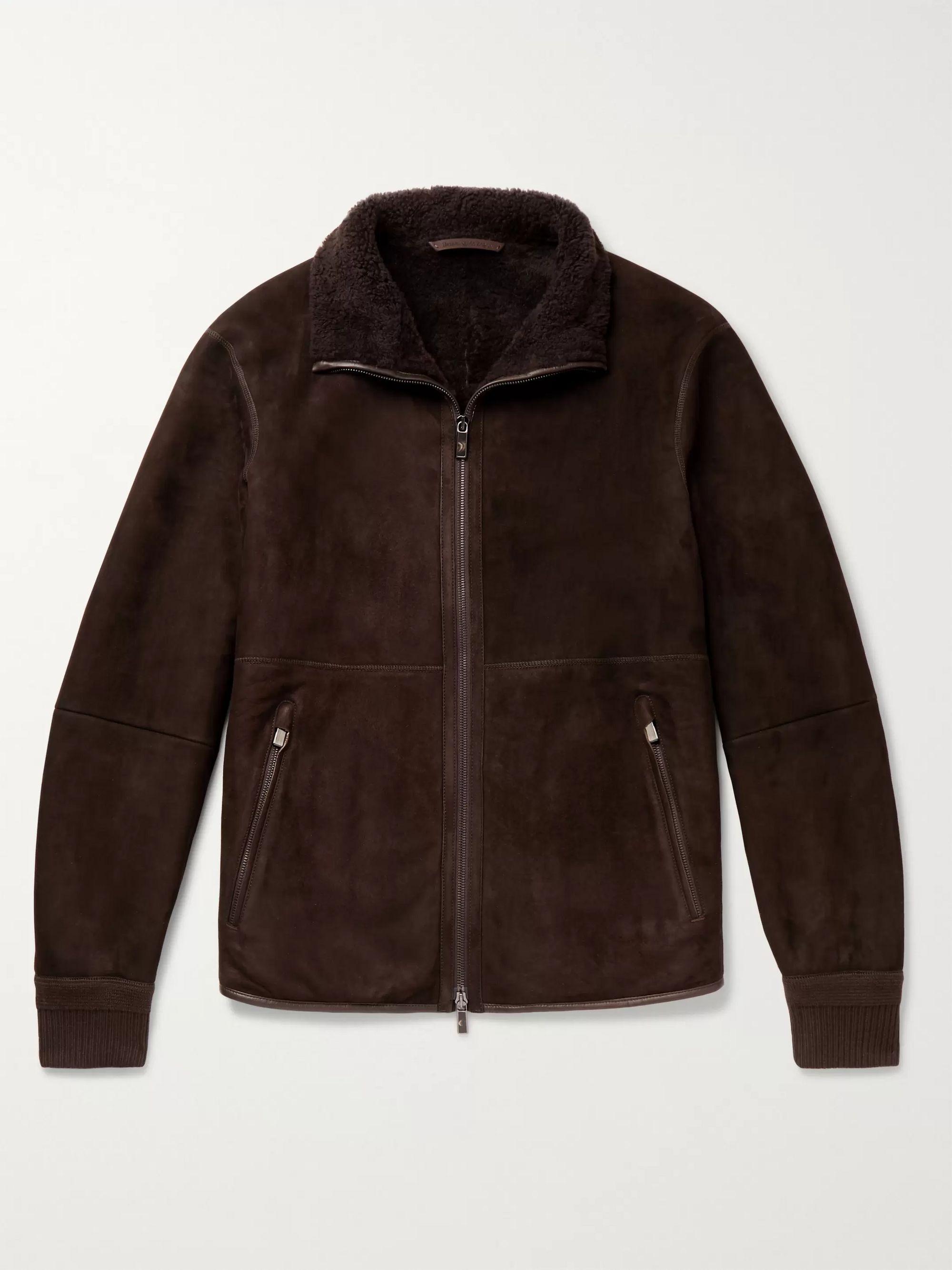 Shearling Blouson Jacket by Mr Porter