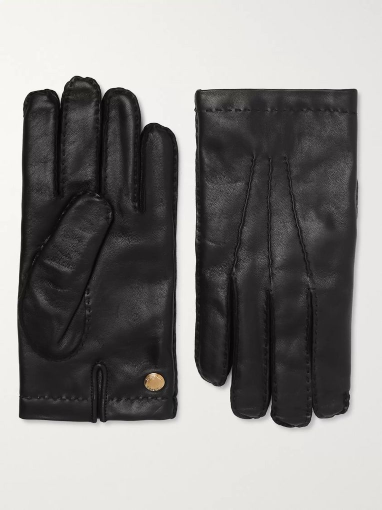 TOM FORD Cashmere-Lined Leather Gloves