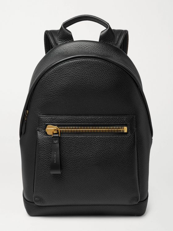 TOM FORD Full-Grain Leather Backpack
