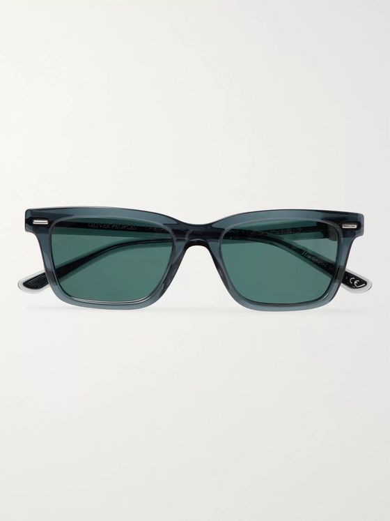 The Row + Oliver Peoples BA CC Square-Frame Tortoiseshell Acetate Sunglasses