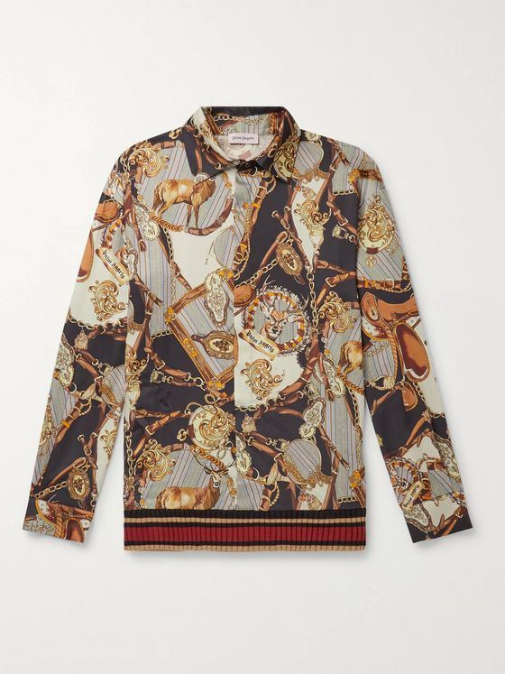 PALM ANGELS Printed Twill Shirt