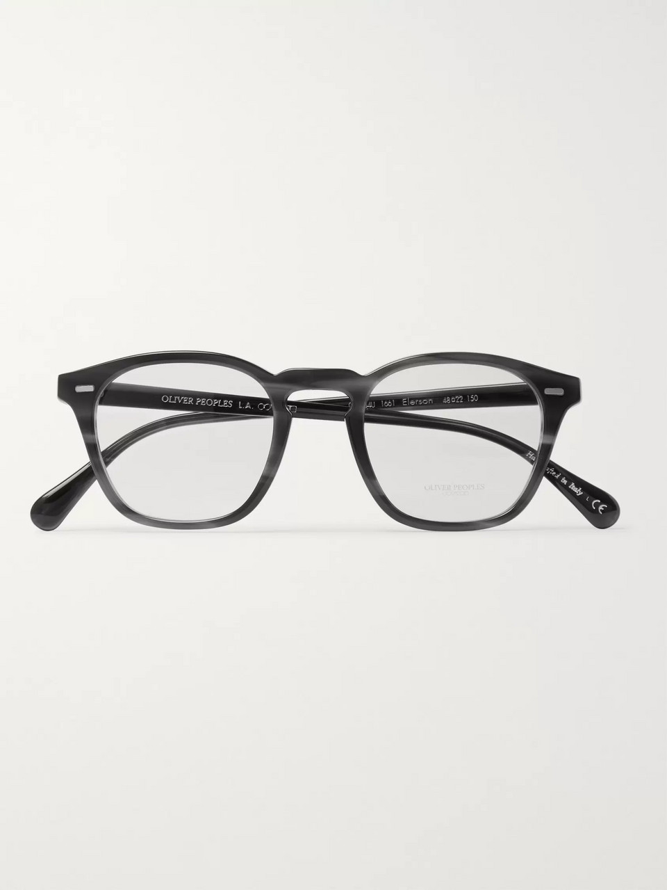 0e922605a5e Oliver Peoples Ellerson D-Frame Acetate Optical Glasses