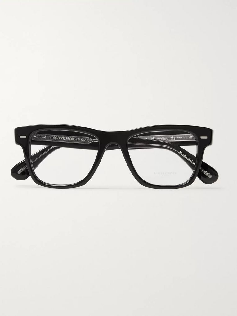 Oliver Peoples Oliver Square-Frame Acetate Optical Glasses