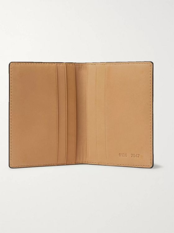 Common Projects Logo-Print Leather Bifold Wallet