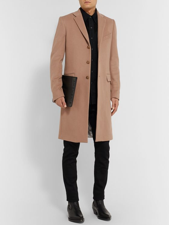 Givenchy Slim-Fit Wool and Cashmere-Blend Coat