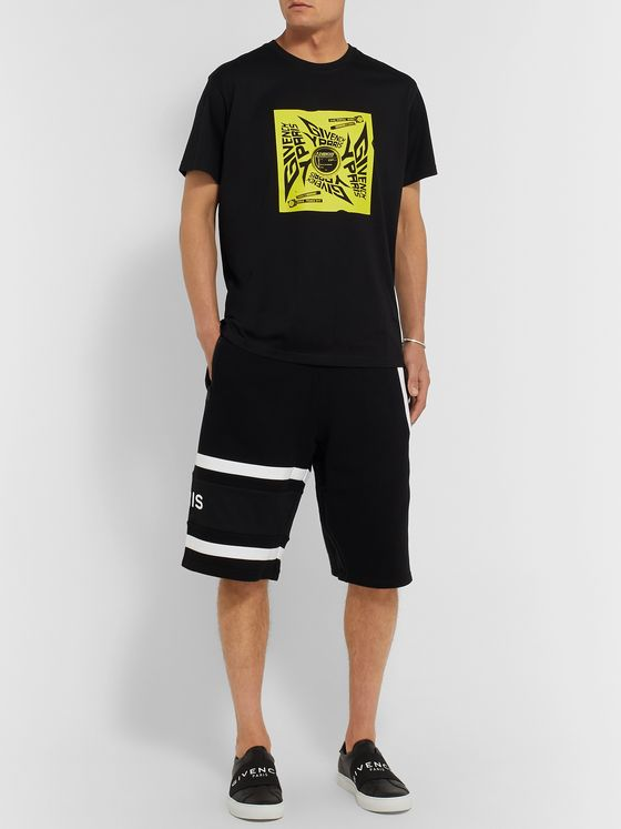 Givenchy Loopback Cotton-Jersey Shorts