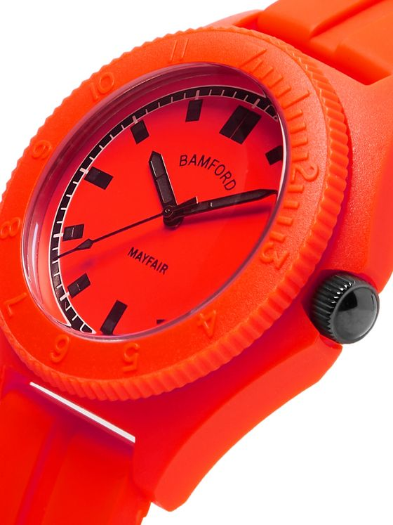 BAMFORD LONDON Mayfair Sport Polymer and Rubber Watch