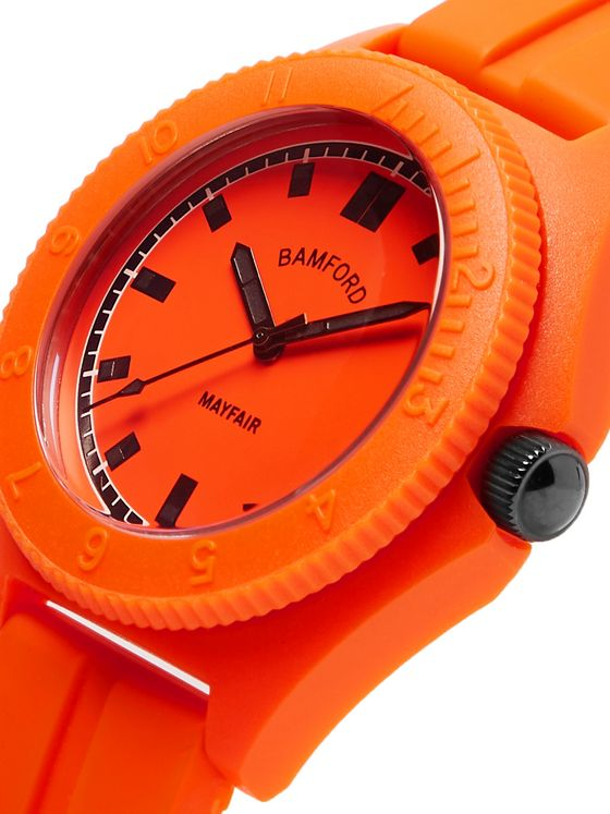 Bamford Watch Department Mayfair Sport Polymer and Rubber Watch