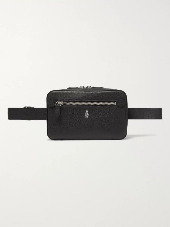 Mark Cross Baker Full-Grain Leather Belt Bag