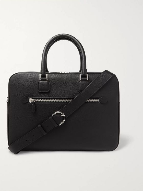 Mark Cross Full-Grain Leather Briefcase