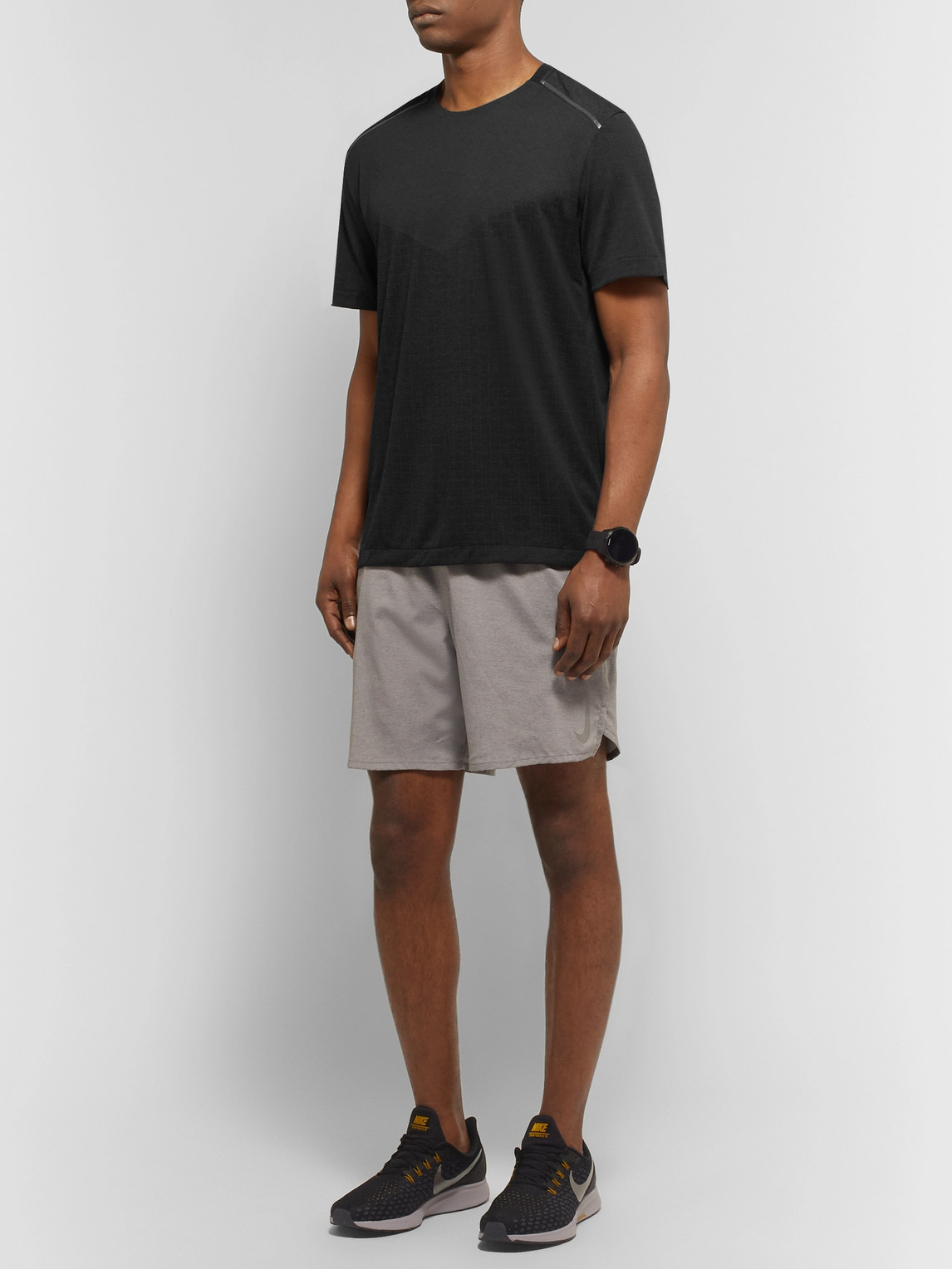 Nike Tops TECH PACK PERFORATED STRETCH JACQUARD