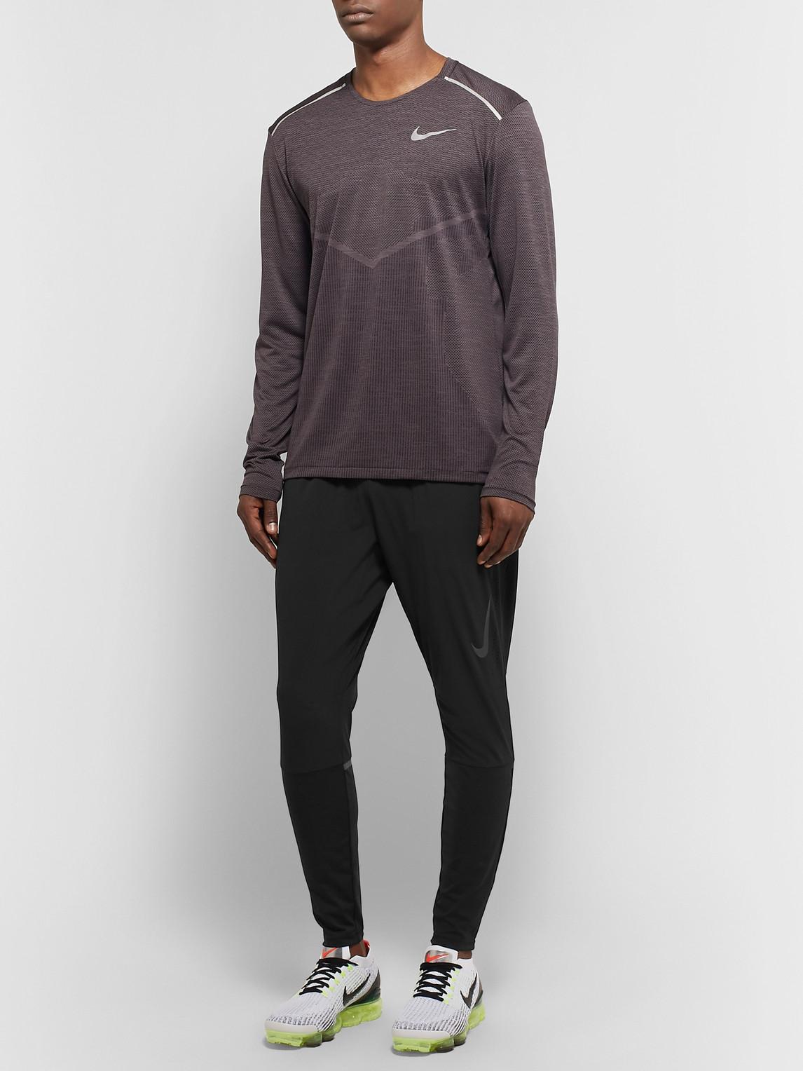 Nike Tops SWIFT PERFORATED FLEX DRI