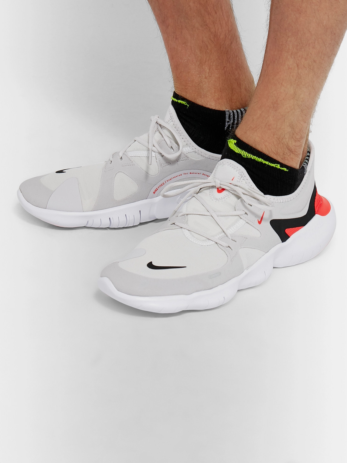 Nike Sneakers FREE RN 5.0 MESH AND FAUX SUEDE SNEAKERS