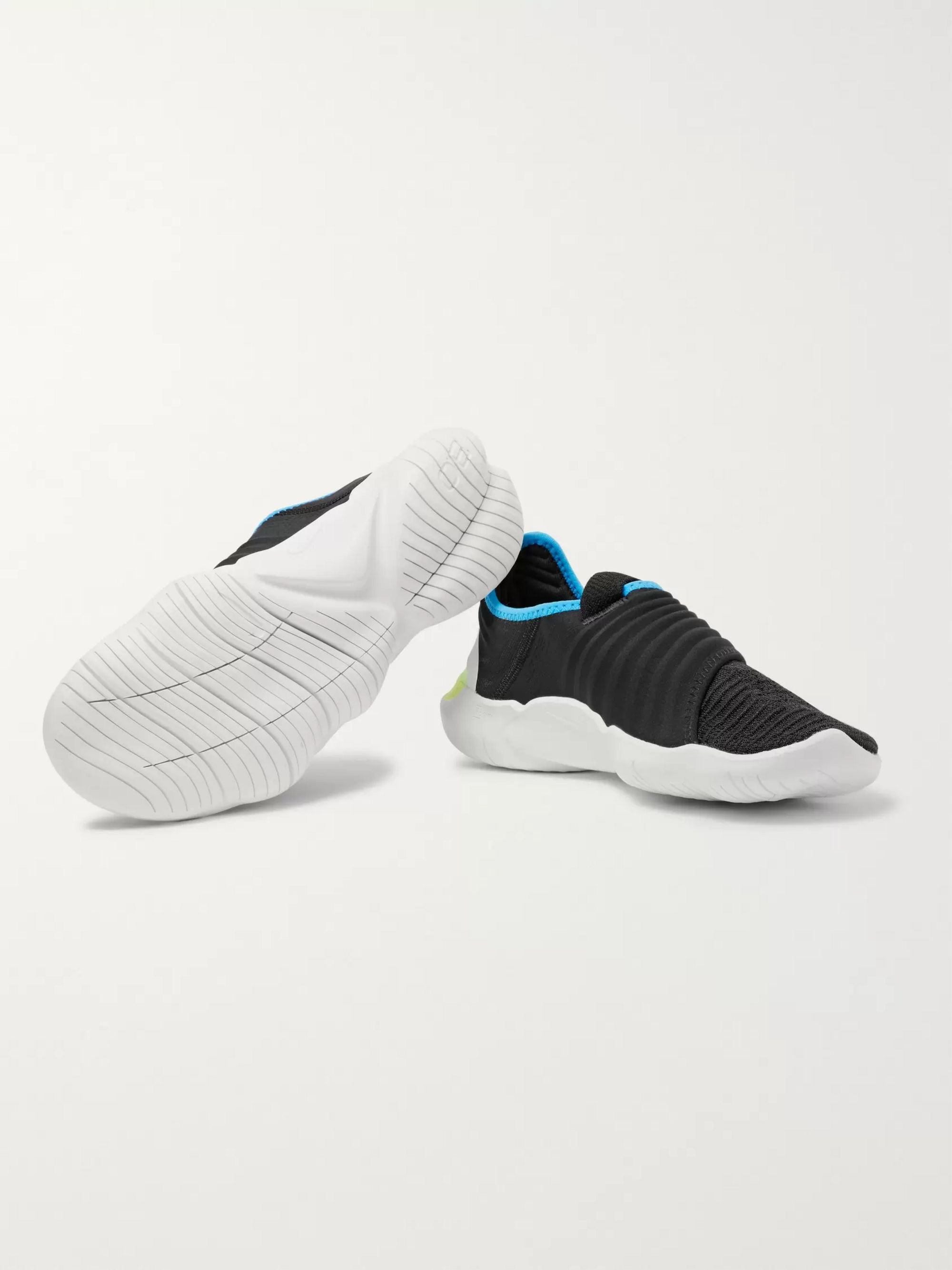Nike Running Free RN 3.0 Flynit and Neoprene Slip-On Sneakers