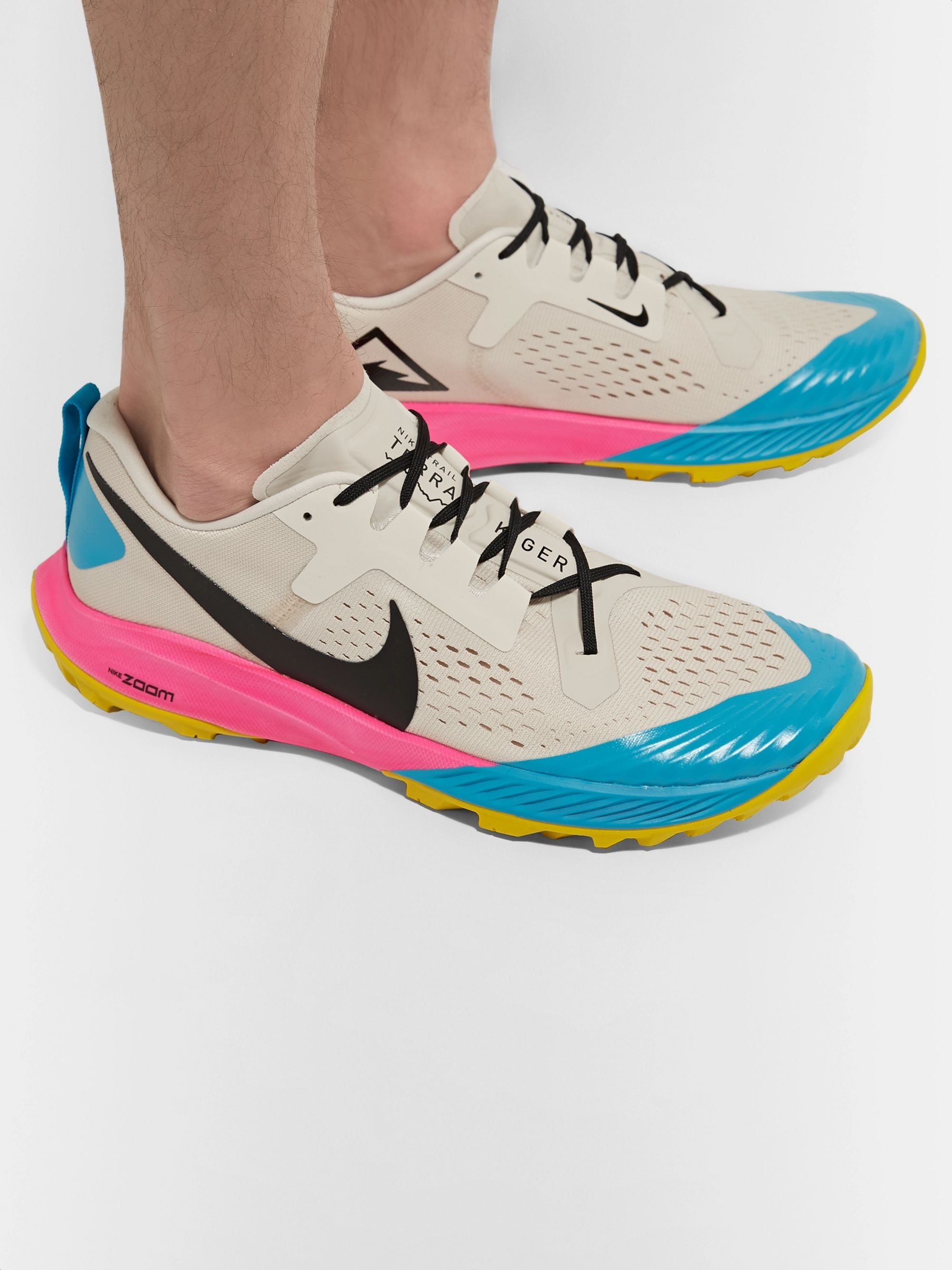 latest trends of 2019 50% price latest fashion Air Zoom Terra Kiger 5 Flymesh Running Sneakers