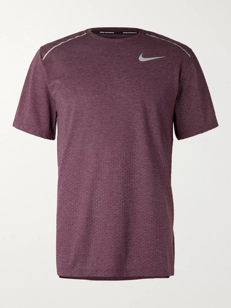 Nike Running Breathe Mesh-Panelled Dri-FIT T-Shirt