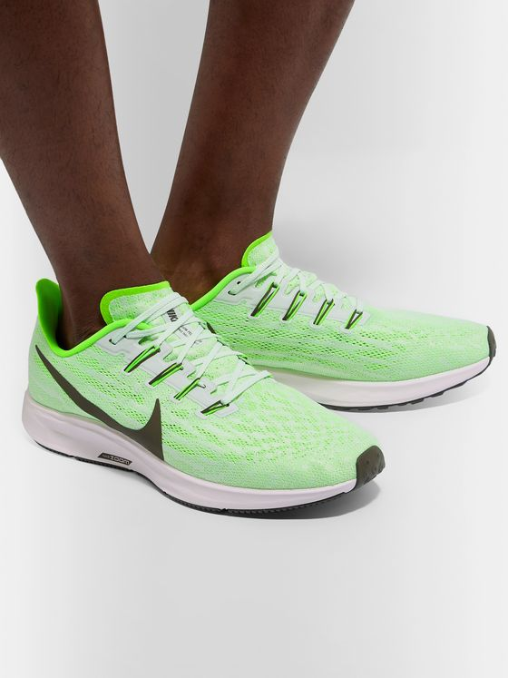 Nike Running Air Zoom Pegasus 36 Mesh Running Sneakers