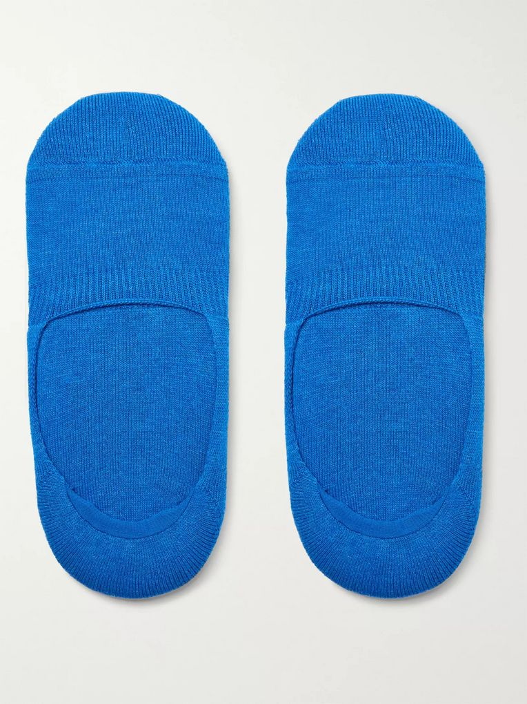 Anonymous Ism No-Show Cotton-Blend Socks