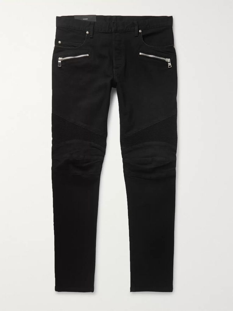 Balmain Slim-Fit Denim Jeans
