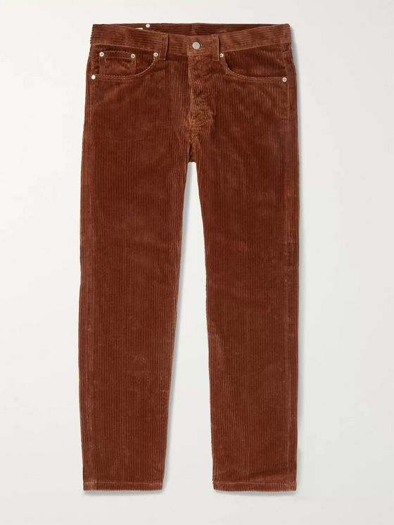 Dries Van Noten Cotton-Corduroy Trousers
