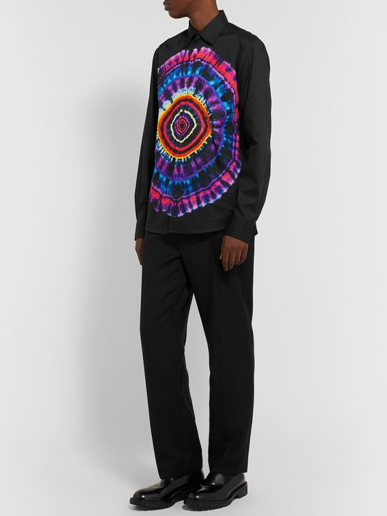 Dries Van Noten Tie-Dye Cotton Shirt