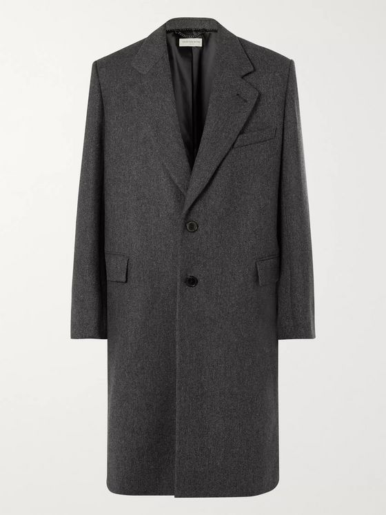Dries Van Noten Wool-Twill Coat
