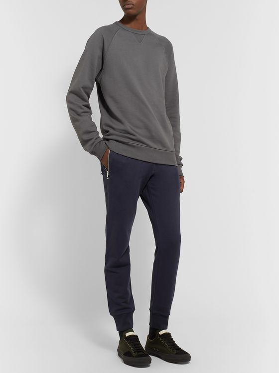 Dries Van Noten Slim-Fit Loopback Cotton-Jersey Sweatpants